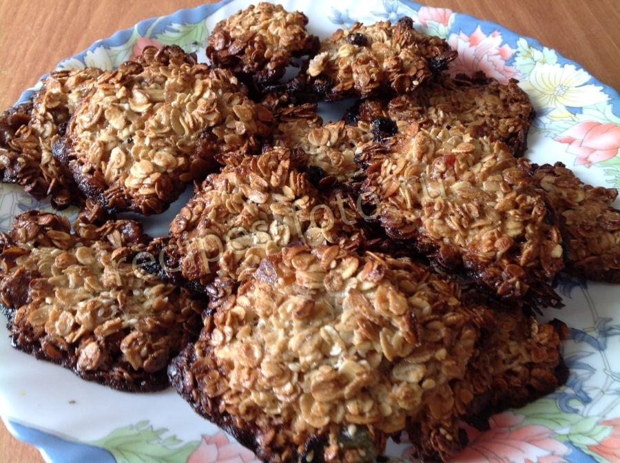 Печенье из хлопьев в домашних условиях 669