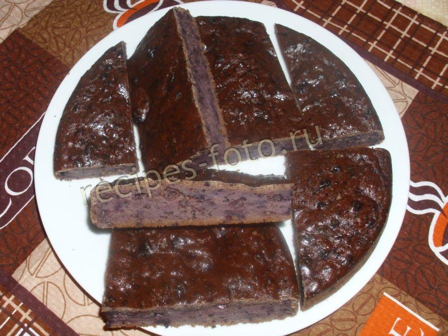 Шоколадный торт на кипятке рецепт с фото пошагово