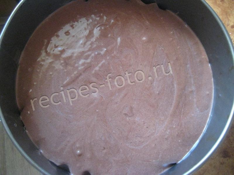 Простой шоколадный торт на 1 2 3 со сметанным кремом в домашних условиях. Рецепт с фото