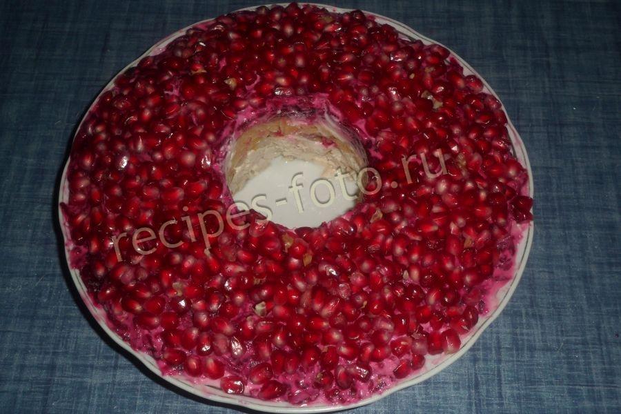 Салат браслет рецепт с пошагово