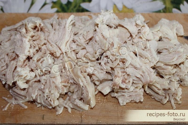 лисья шубка рецепт с фото с курицей