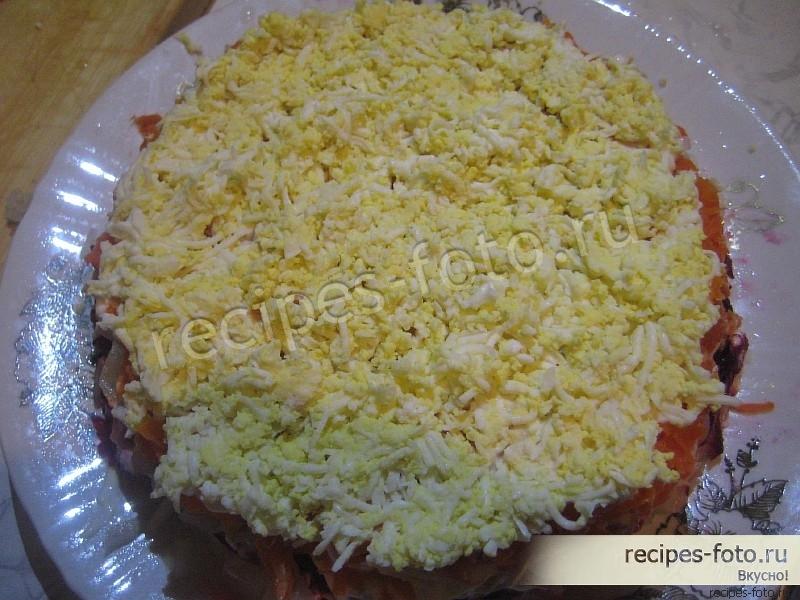 Салат свеклы пошаговый рецепт фото