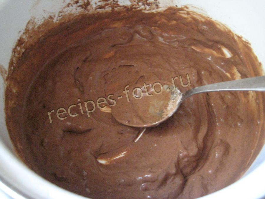 Шоколадная глазурь для торта из сметаны