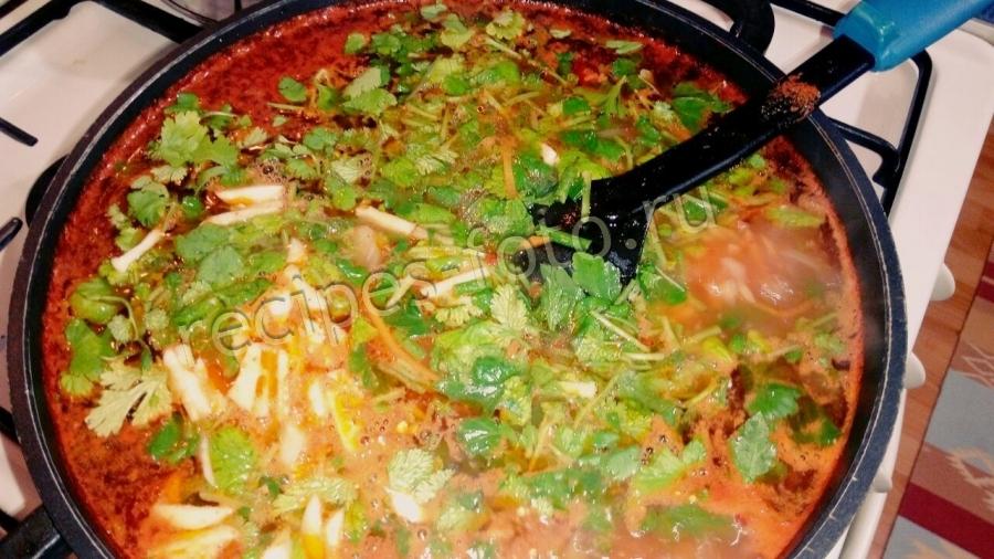 рецепты супов из говядины с рисом