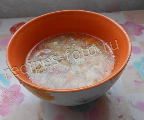 суп для ребенка 1 год из говядины