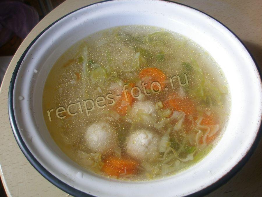 суп с фрикадельками в мультиварке редмонд пошаговый рецепт с фото