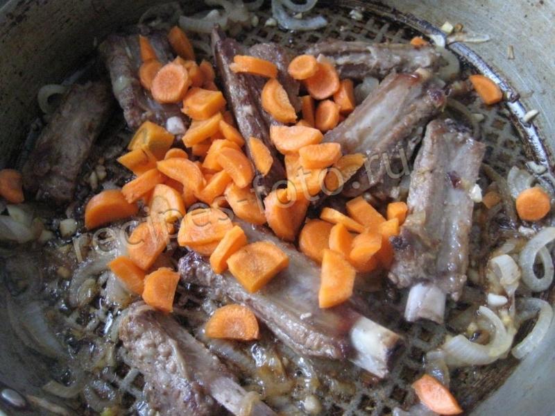 как приготовить свиные ребрышки с картошкой на сковороде