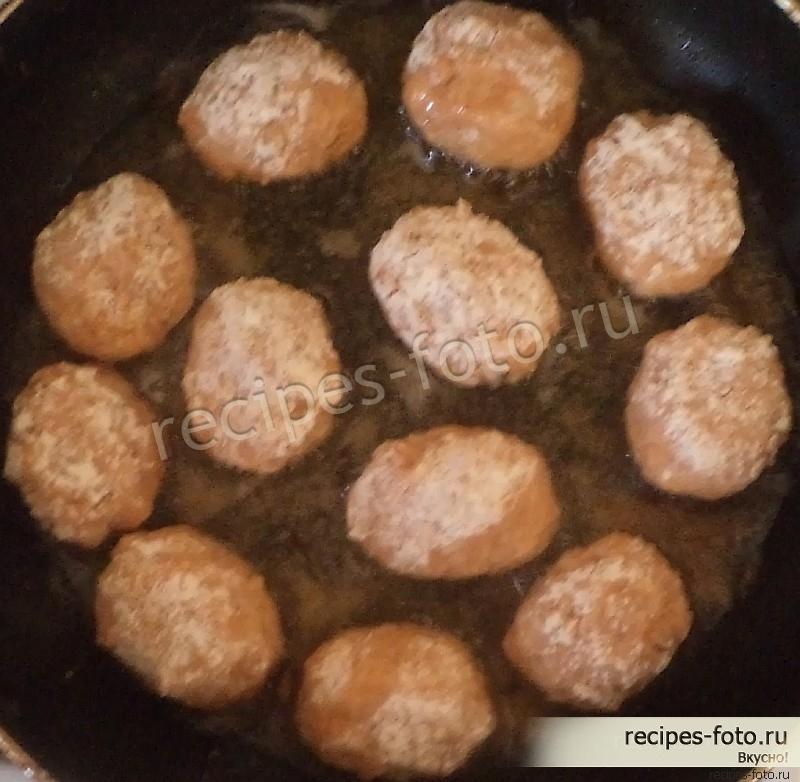 тефтели с рисом в духовке пошаговый фото рецепт