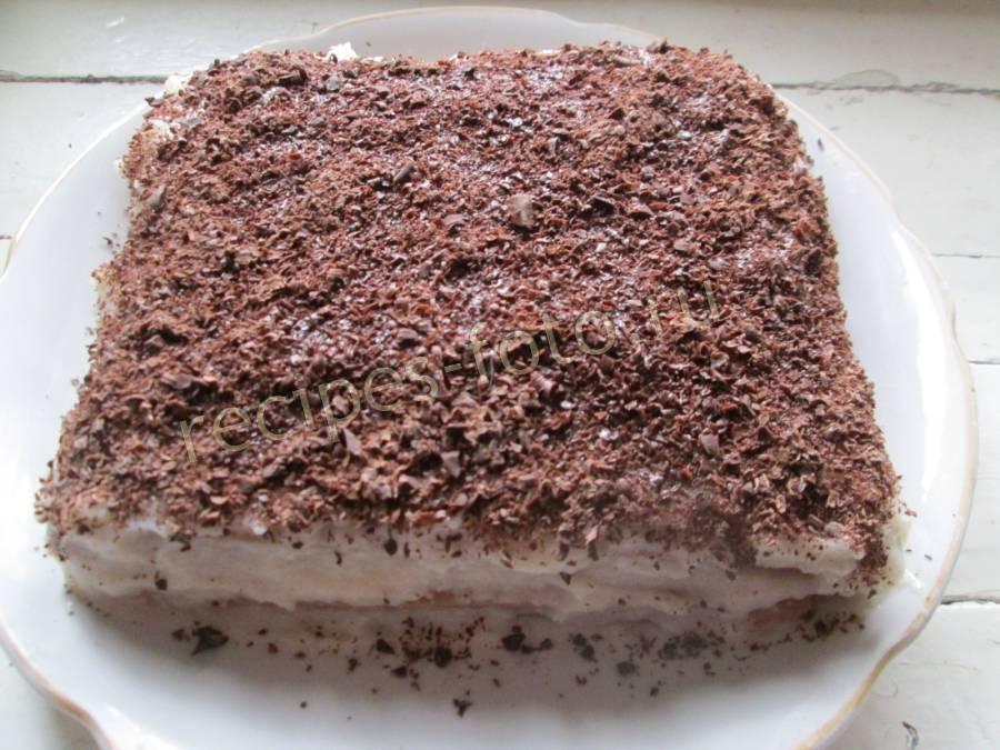 рецепт торт прага на кефире
