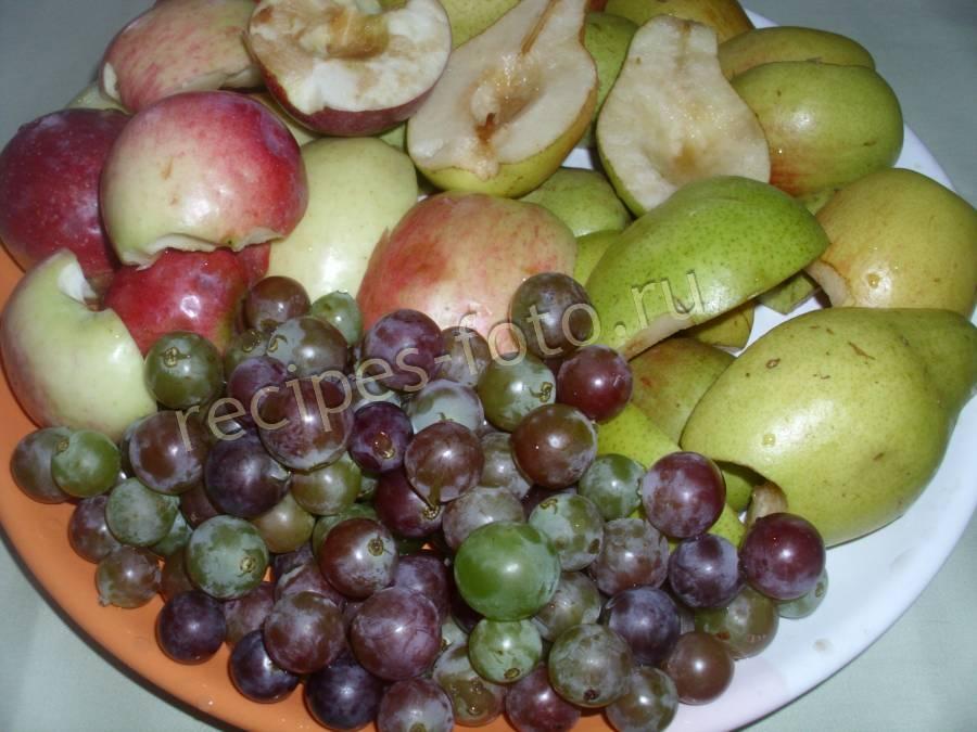 Варенье виноград яблоко