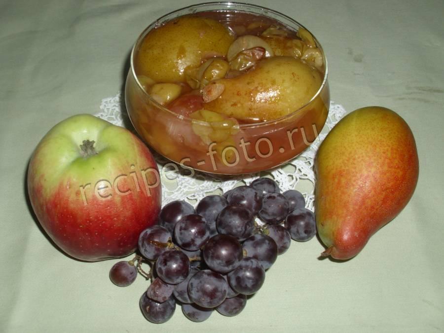 варенье ассорти из фруктов на зиму
