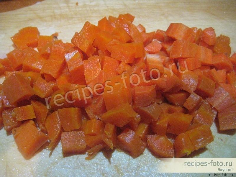 Винегрет классический рецепт без капусты с фото