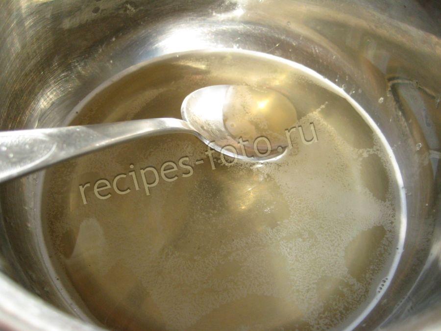 Как сделать желе из желатина и сиропа