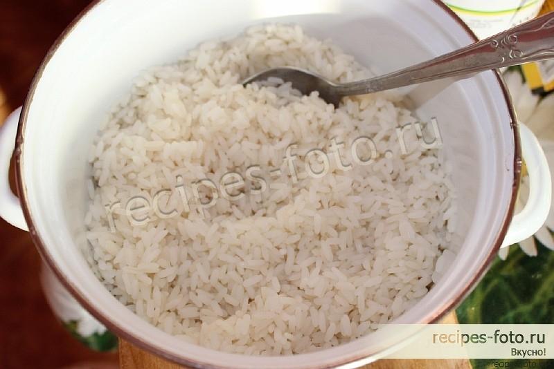 Как сделать рис рецепт фото