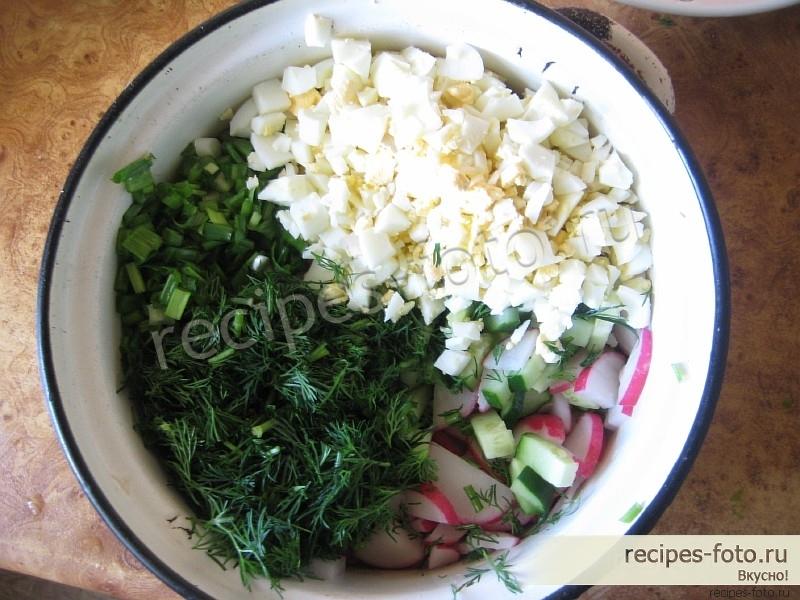 Салат с сыром и помидором рецепт пошагово 28
