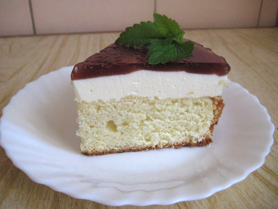 Бисквитный торт с творогом рецепт пошагово
