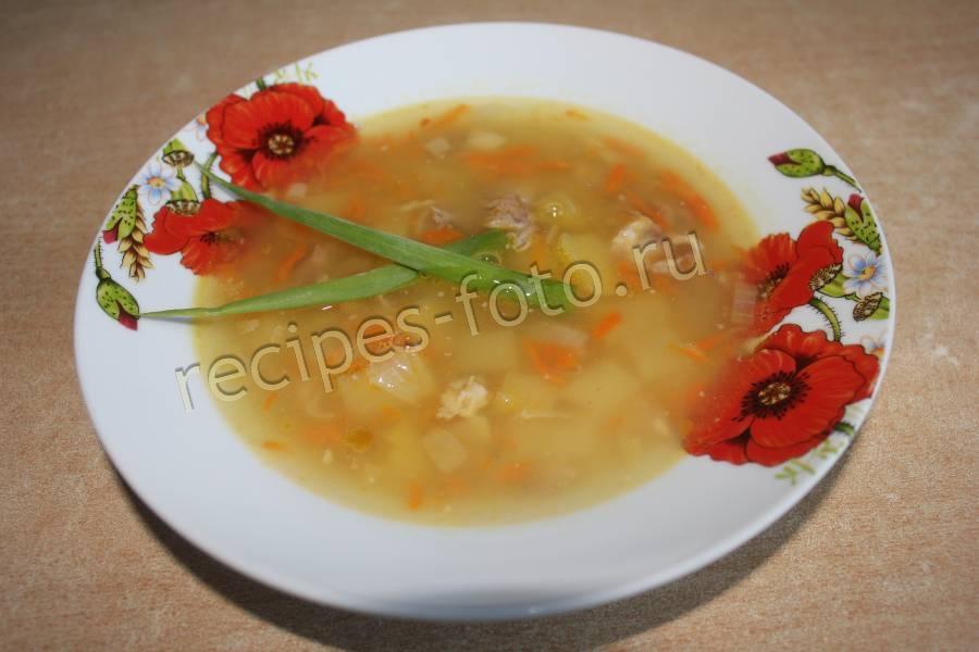 рецепт суп калорийность на 100 грамм
