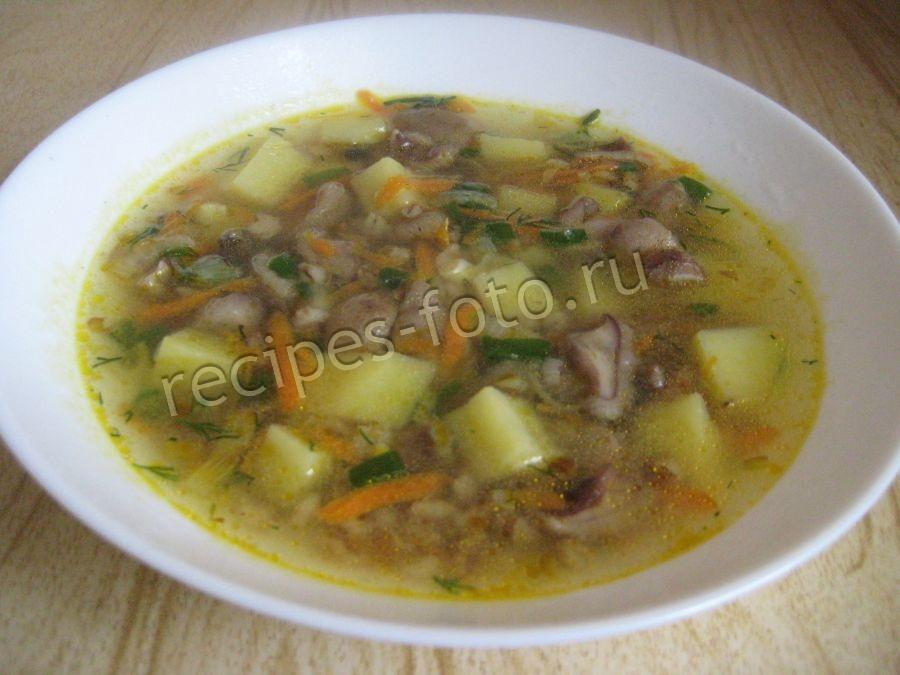 рецепт супа с грибами и картофелем