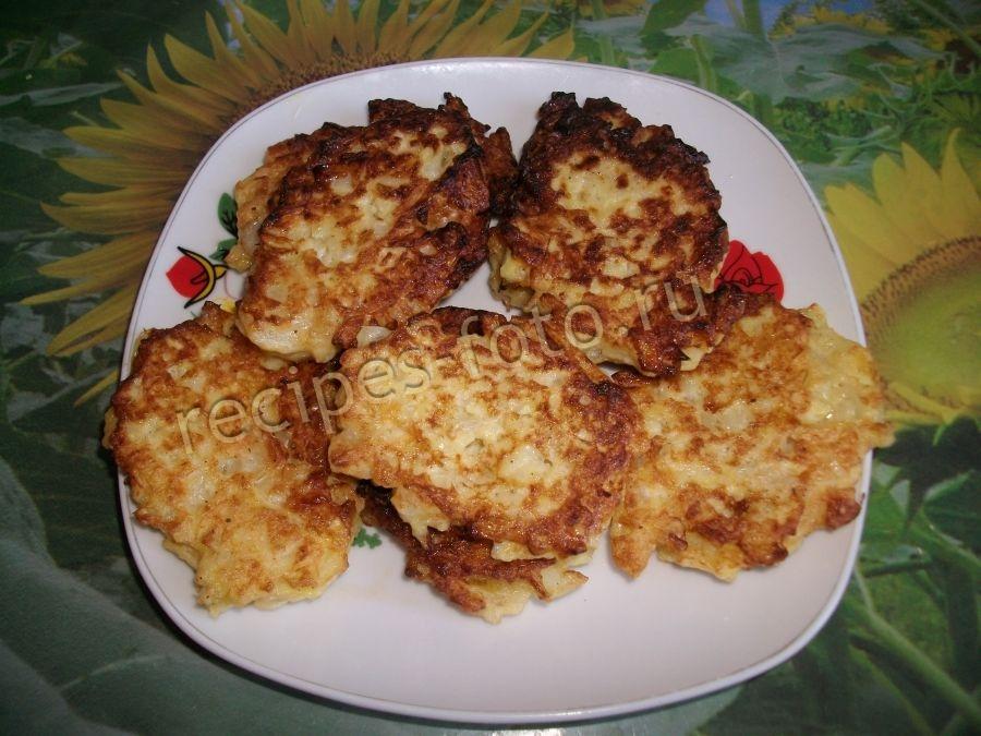 капустные оладьи рецепт приготовления