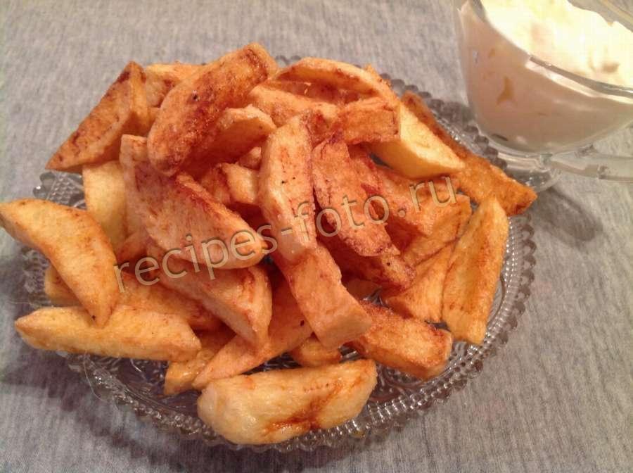 Картофель фри в домашних условиях без фритюра и фритюрницы 41