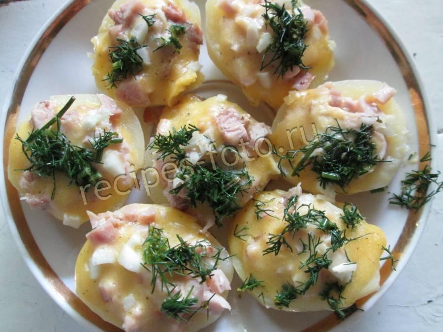 картошка фаршированная рецепт с фото
