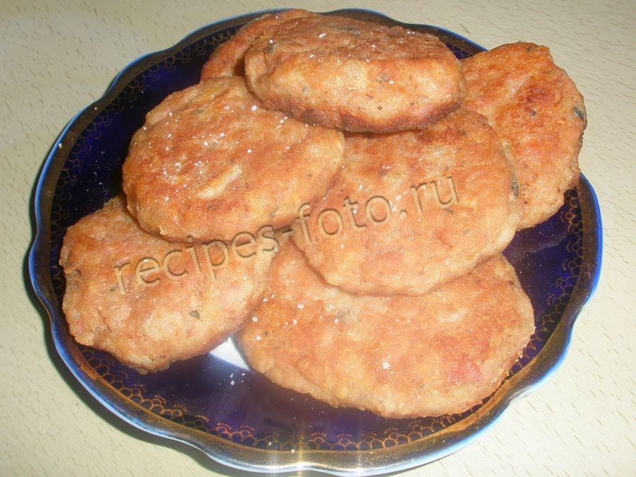 Котлеты из индейки без хлеба рецепт