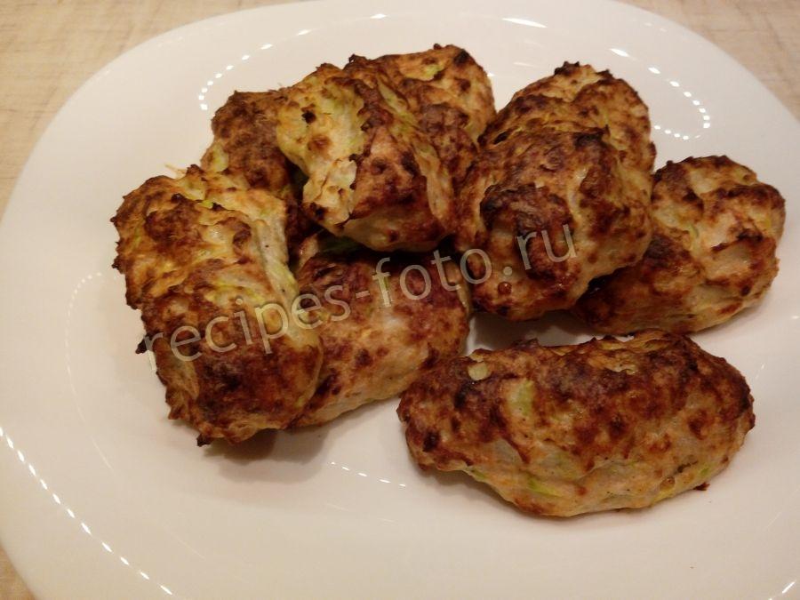 котлеты из кабачков для детей рецепт с фото