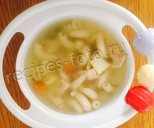 суп из кролика с вермишелью рецепт