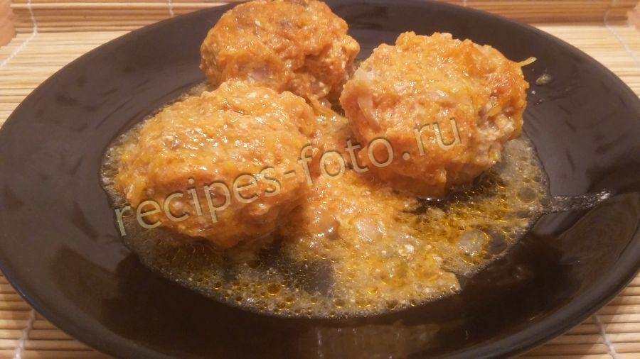 Запеканка с картофелем фаршем и грибами в духовке рецепт с фото