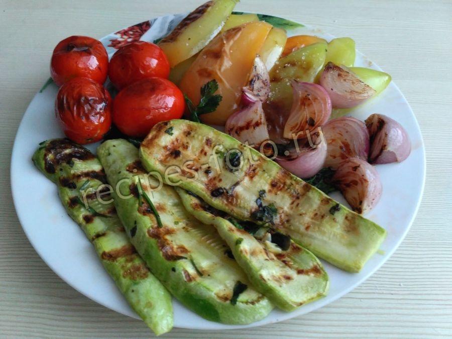 Рецепты для сковороды гриль газ овощи
