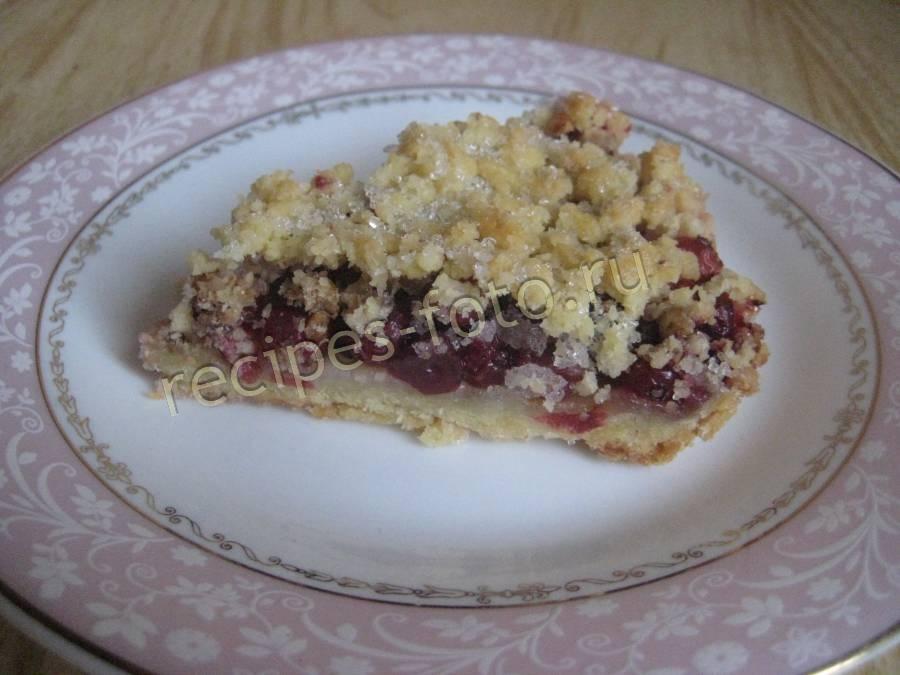 Пирог сладкий на кефире в духовке рецепт