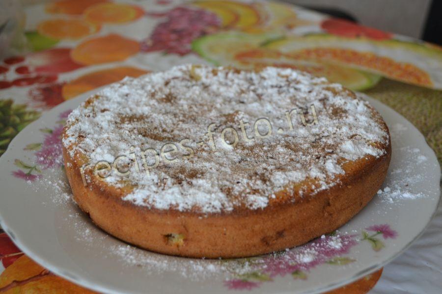 Песочный пирог с вишней и сметаной рецепт 35