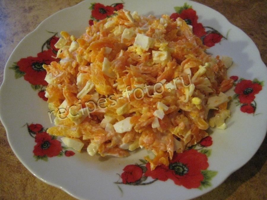 салат с курицей вареной и сыром