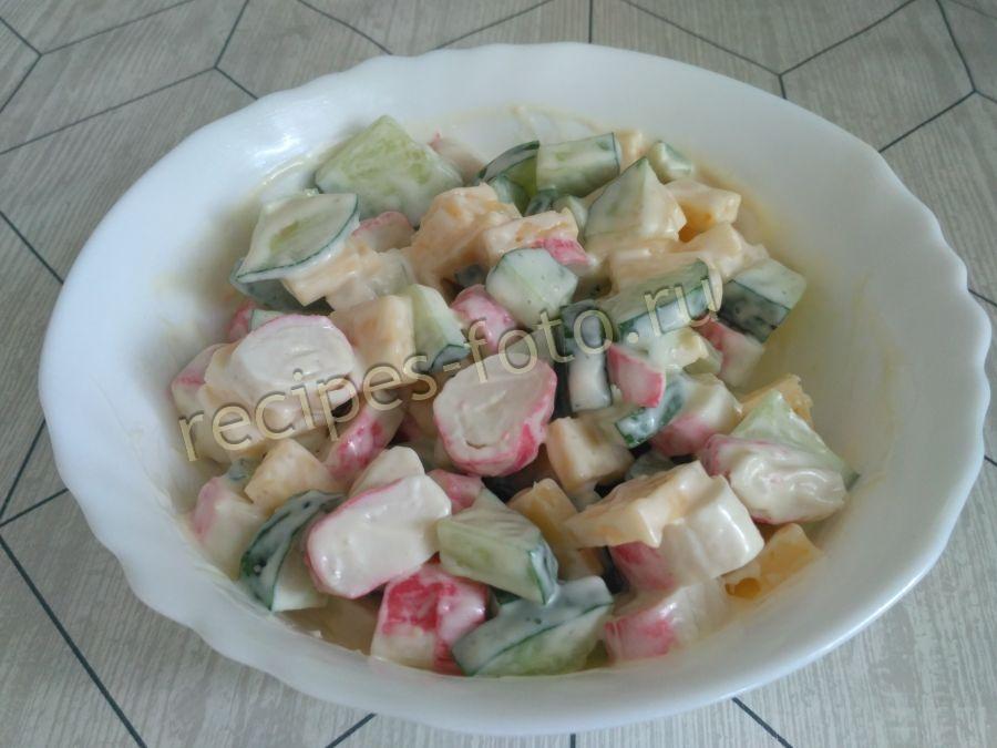 рецепты простых салатов на скорую руку с горошком