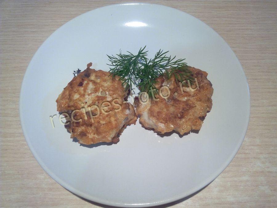 рыбные котлеты из кеты рецепт с фото
