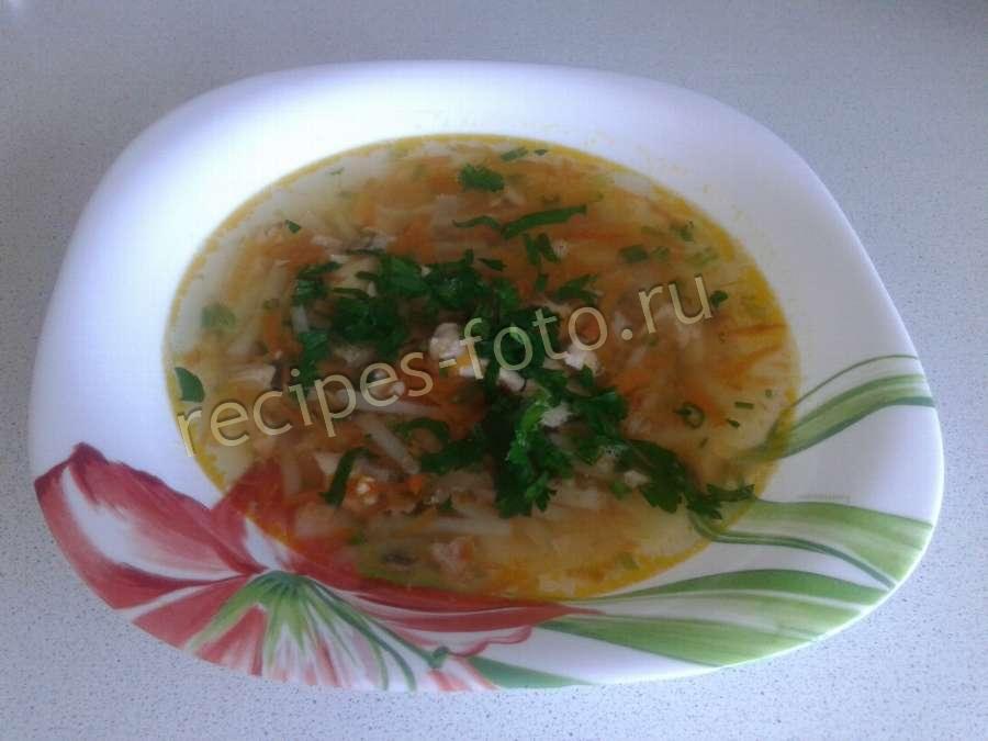 Калорийность рыбного супа из горбуши
