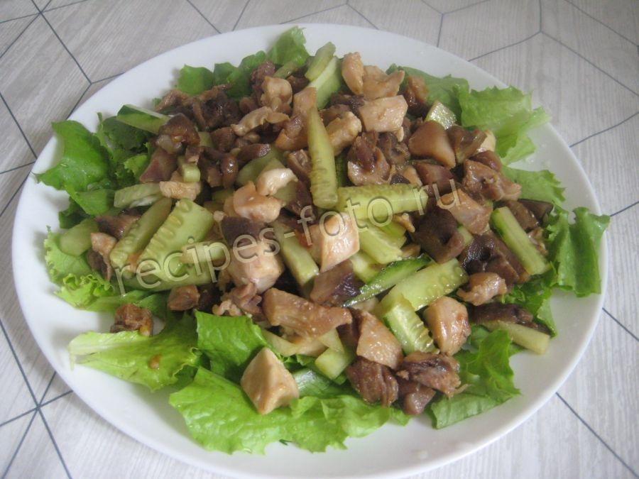 Салаты с курицей рецепты куриных салатов вкусные и