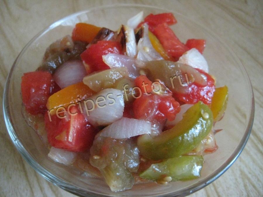 Салат рецепт помидоры с рисом на зиму рецепт с