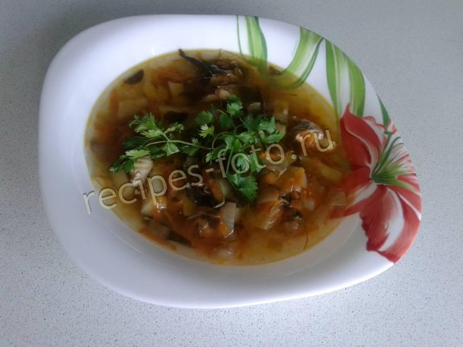 щавельный суп на курином бульоне с яйцом рецепт