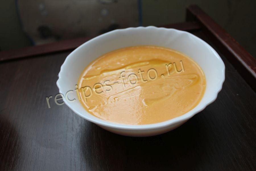 суп из моркови для детей до года рецепт