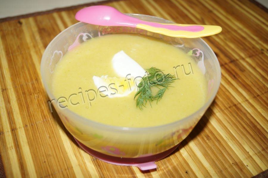 рецепты супов для детей до 1 года фото