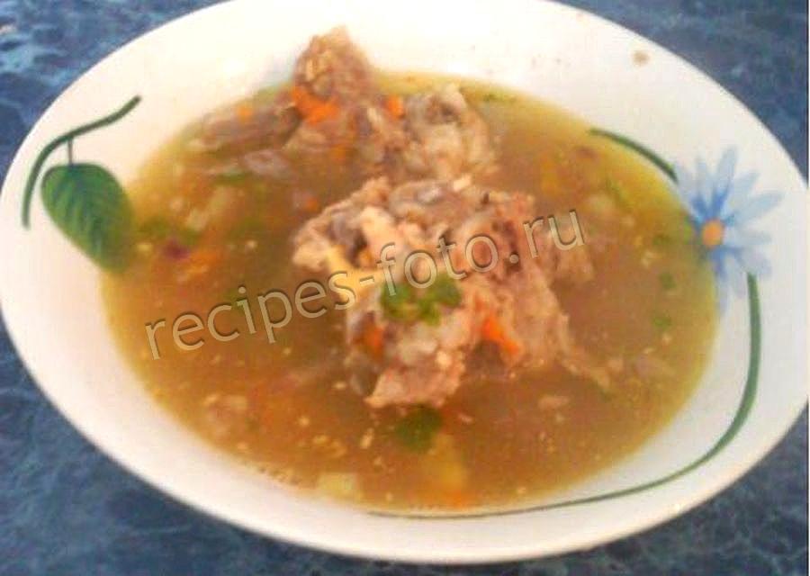 мясной суп со свининой рецепт
