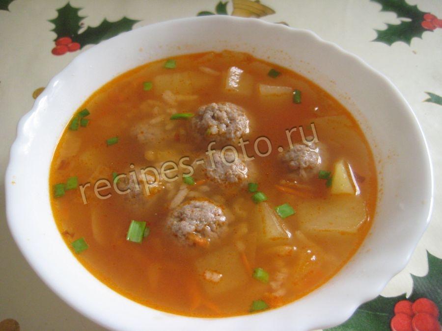 фрикадельки с рисом для супа рецепт из фарша