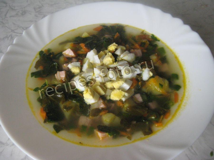 Рецепты супа из крапивы и щавеля