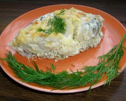 Ачма из лаваша с творогом и сыром
