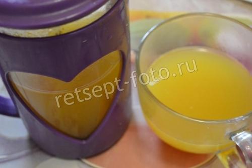 Чай из куркумы, имбиря и лимона