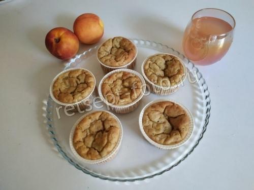 Детские кексы с фруктами без сахара детям от 1 года