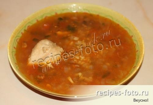 суп с вермишелью и курицей рецепт с фото без картошки