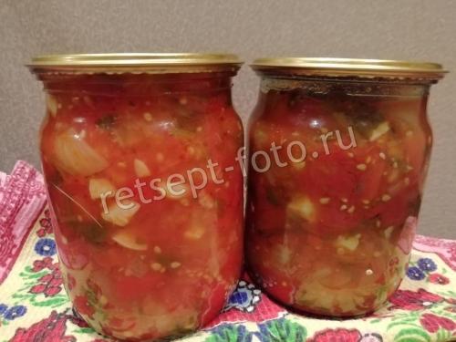 Классический соус «Сальса» из помидор на зиму