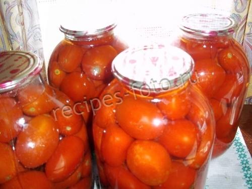 Мелкие помидоры на зиму рецепты на литровую банку